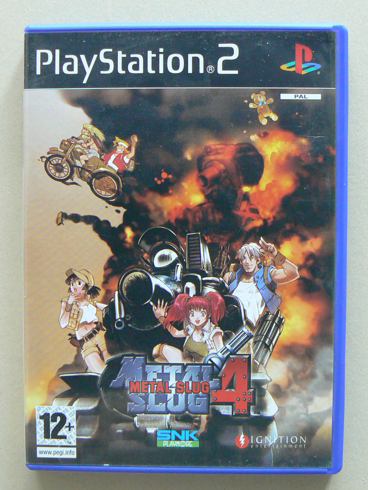 Download Game Metal Slug 4 128X160